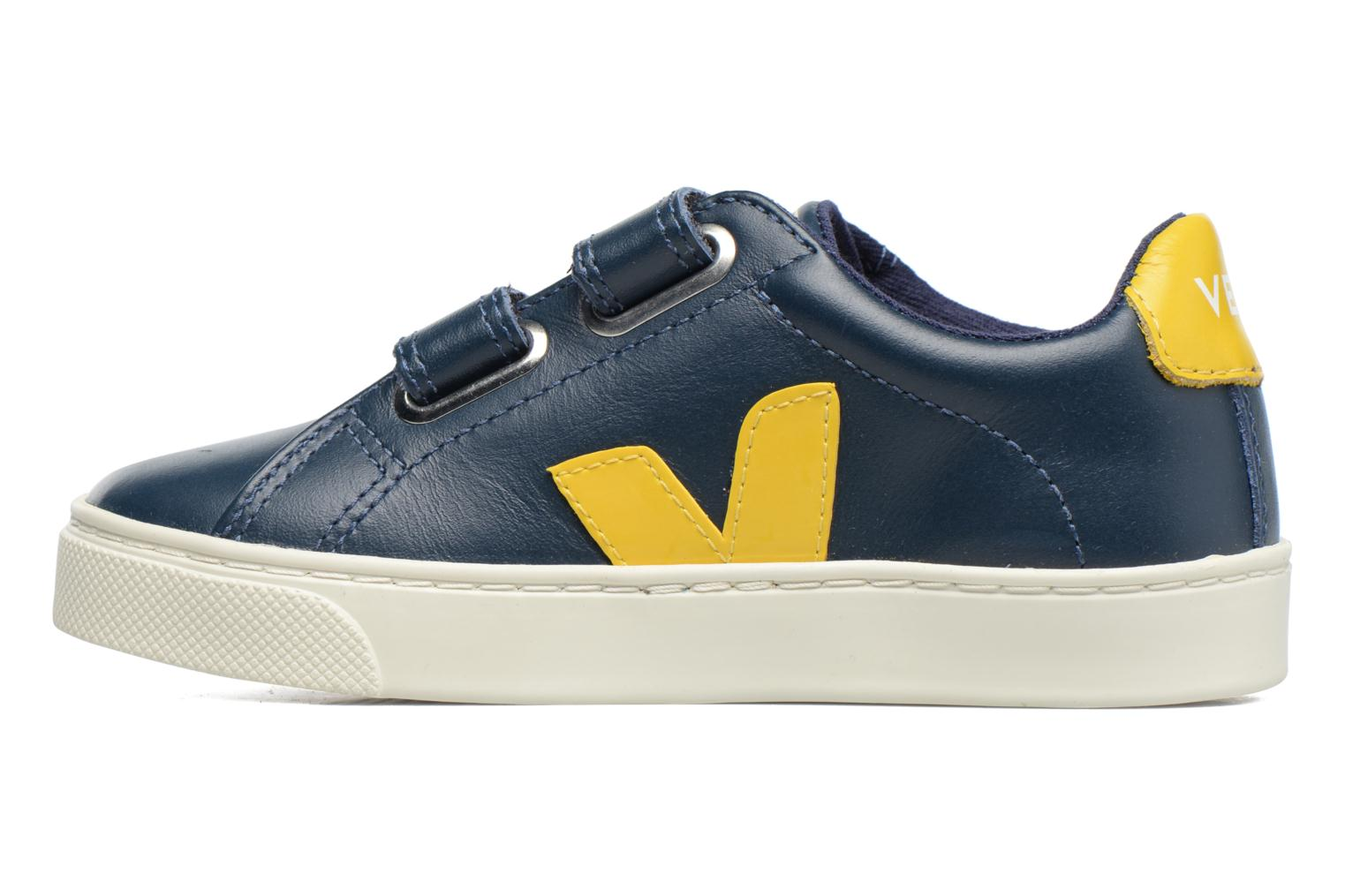 Trainers Veja Esplar Small Velcro Blue front view