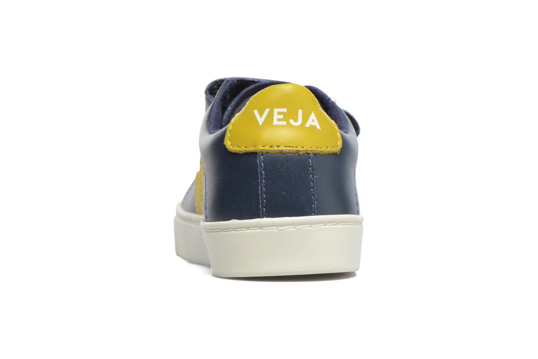 Sneaker Veja Esplar Small Velcro blau ansicht von rechts