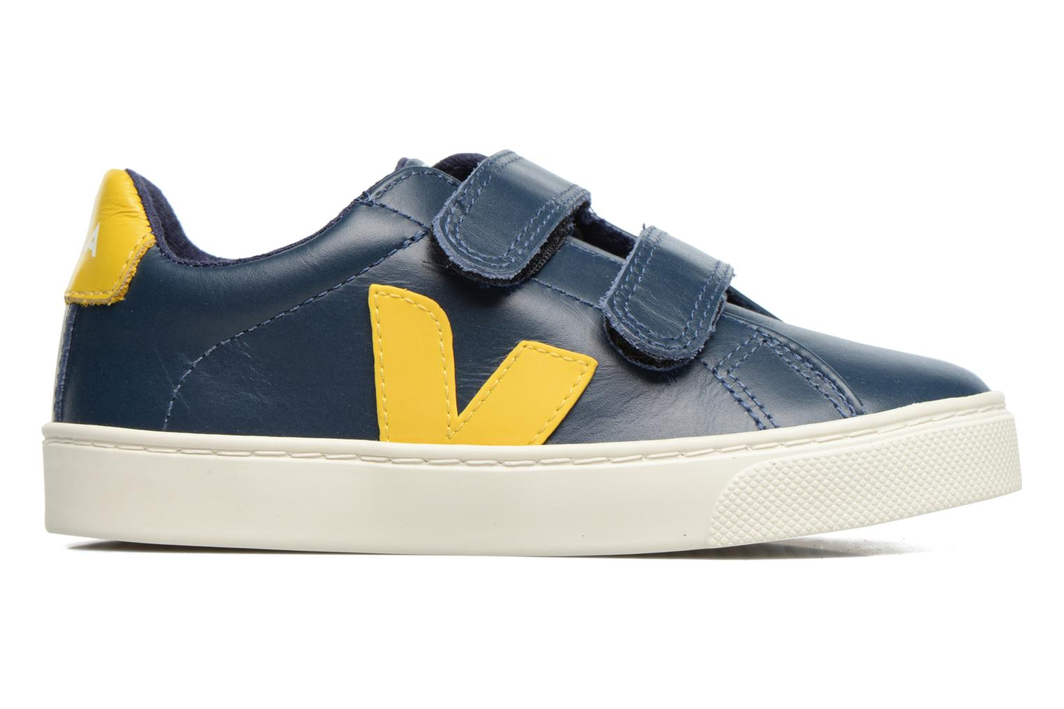 Esplar Small Velcro Nautico Gold Yellow Leather