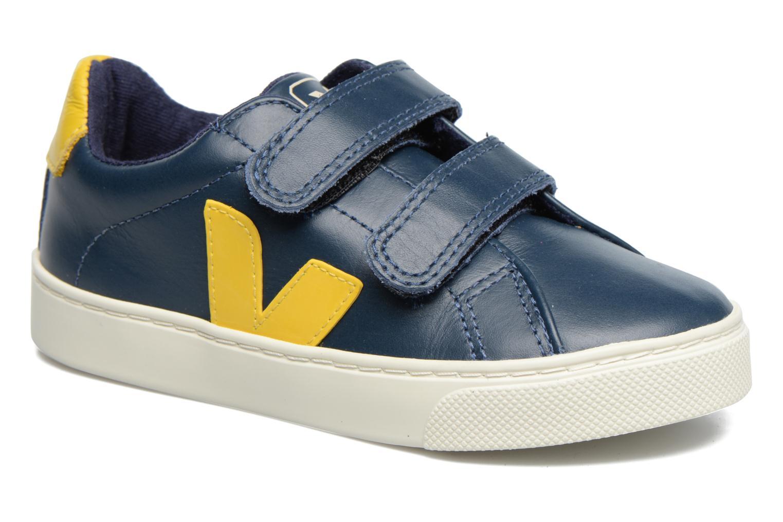 Esplar Small Velcro Nautico Gold Yellow Leather