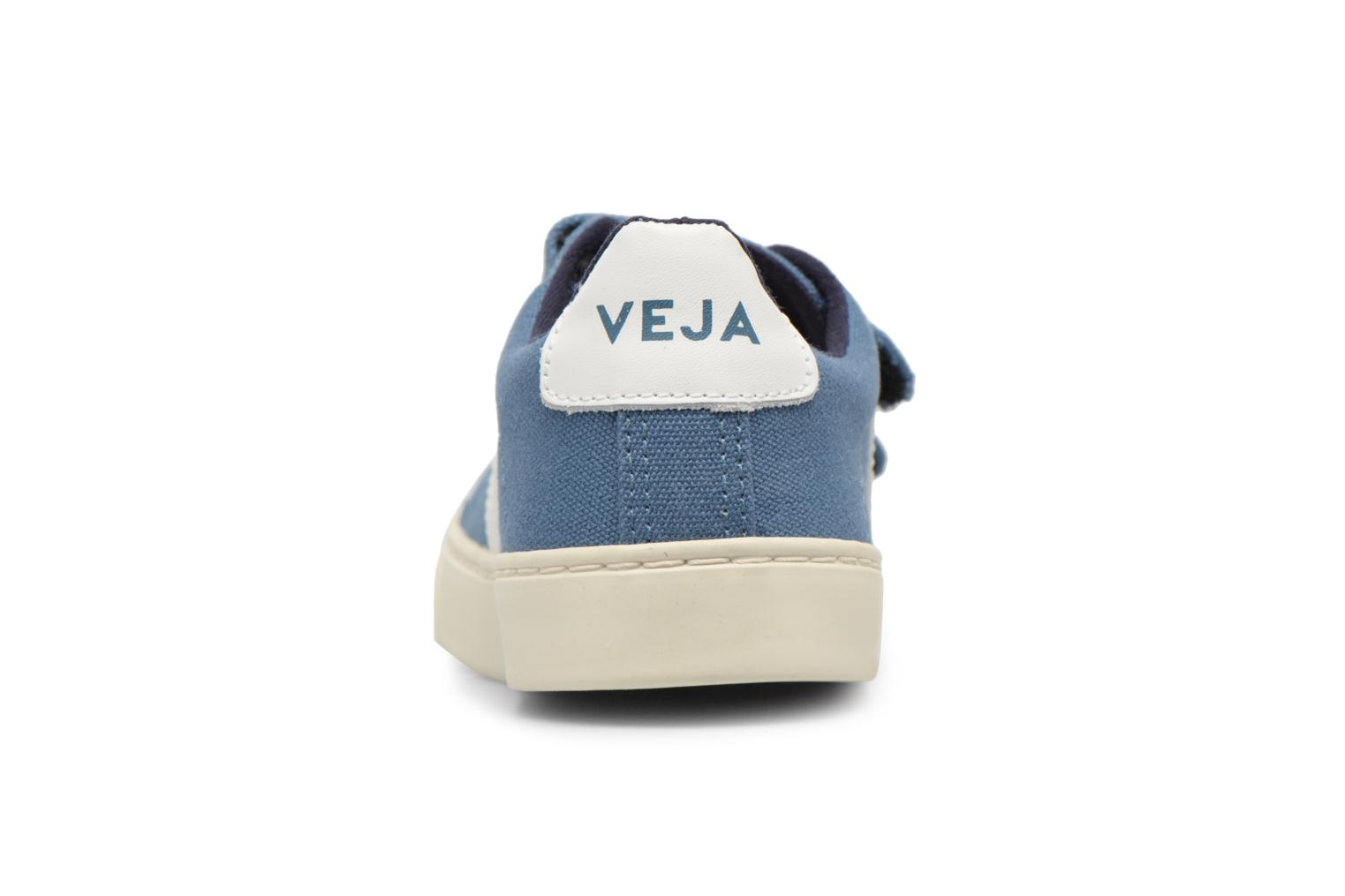 Trainers Veja Esplar Small Velcro Beige view from the right