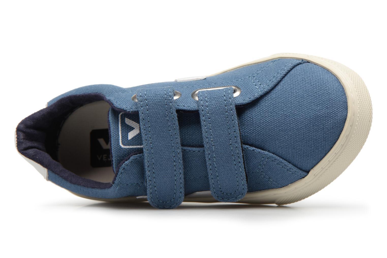 Baskets Veja Esplar Small Velcro Beige vue gauche