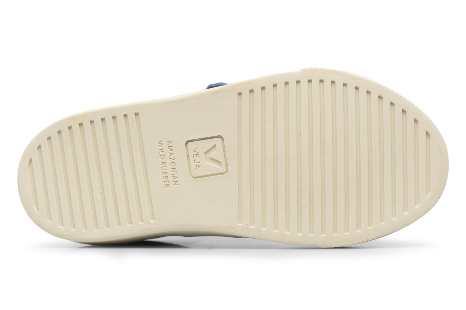Trainers Veja Esplar Small Velcro Beige view from above