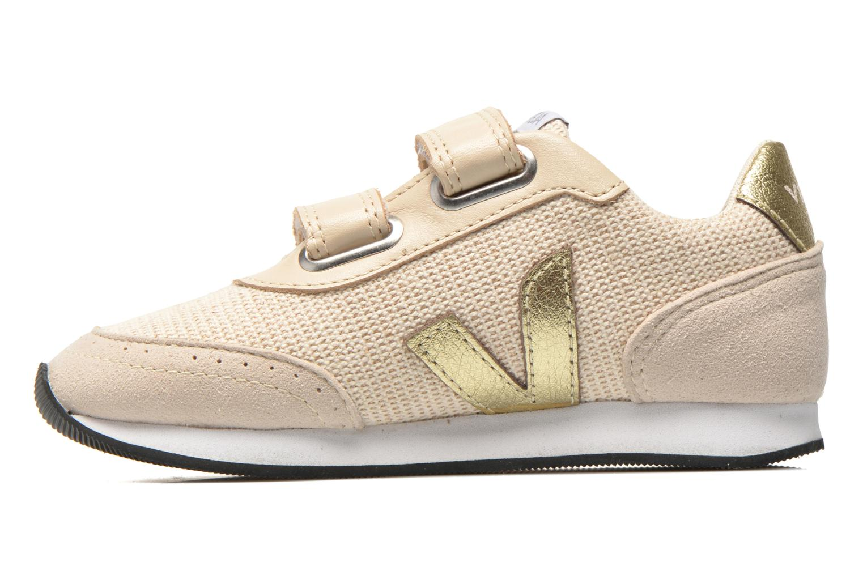 Sneaker Veja Arcade Small beige ansicht von vorne