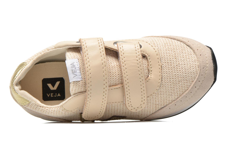 Sneaker Veja Arcade Small beige ansicht von links