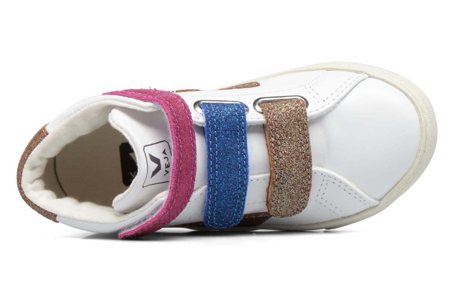 Sneakers Veja Esplar Mid Small Velcro Wit links