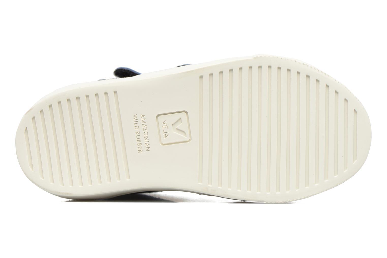 Sneakers Veja Esplar Mid Small Velcro Blå bild från ovan