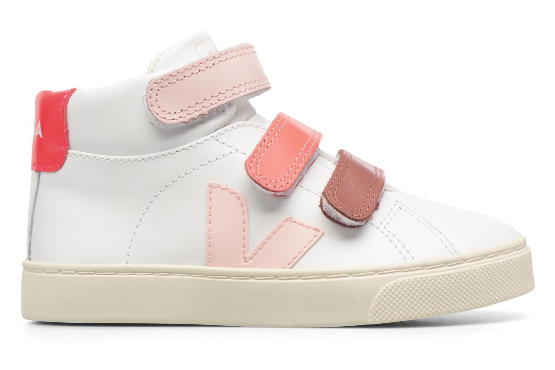 Sneaker Veja Esplar Mid Small Velcro weiß ansicht von hinten
