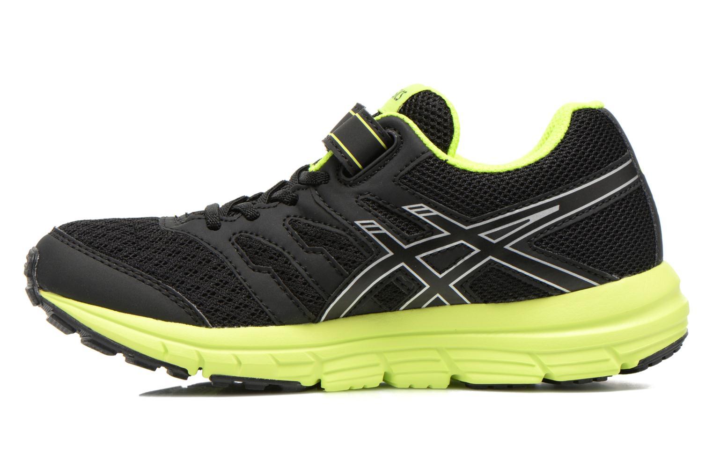 Chaussures de sport Asics Gel-Zaraca Ps Noir vue face
