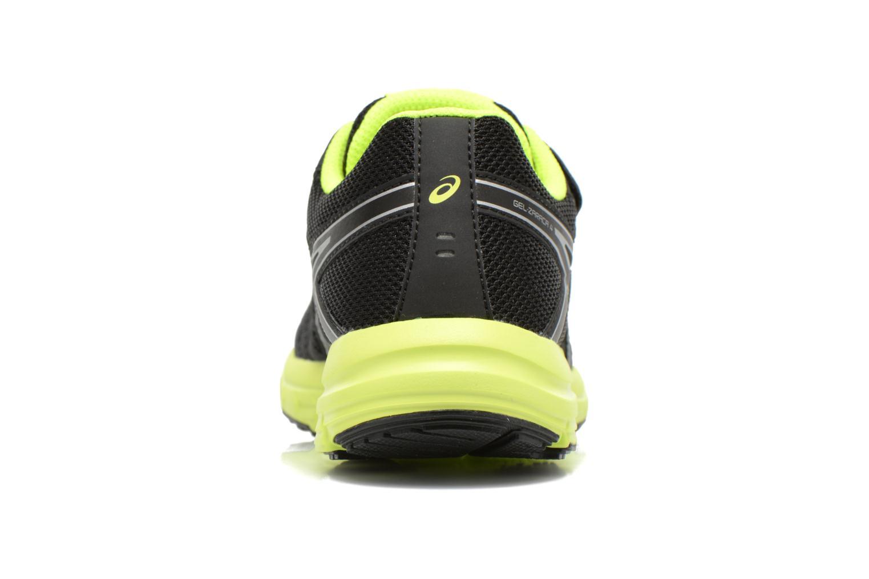 Chaussures de sport Asics Gel-Zaraca Ps Noir vue droite