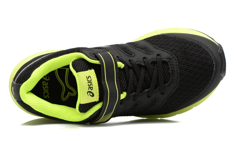 Chaussures de sport Asics Gel-Zaraca Ps Noir vue gauche