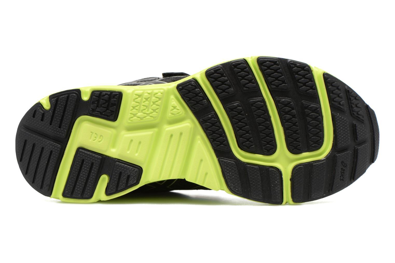 Chaussures de sport Asics Gel-Zaraca Ps Noir vue haut