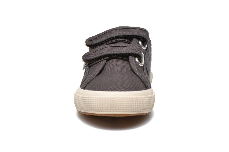 Baskets Superga 2750 Conbinvj Gris vue portées chaussures