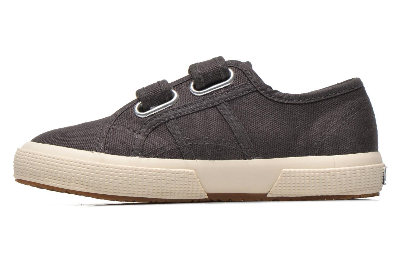 Sneaker Superga 2750 Conbinvj grau ansicht von vorne