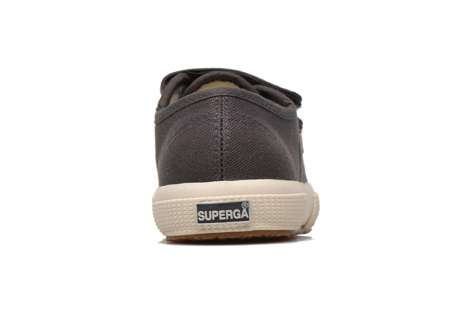 Trainers Superga 2750 Conbinvj Grey view from the right