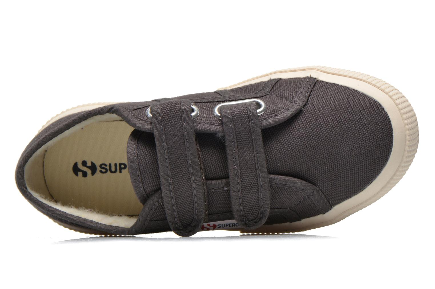 Trainers Superga 2750 Conbinvj Grey view from the left