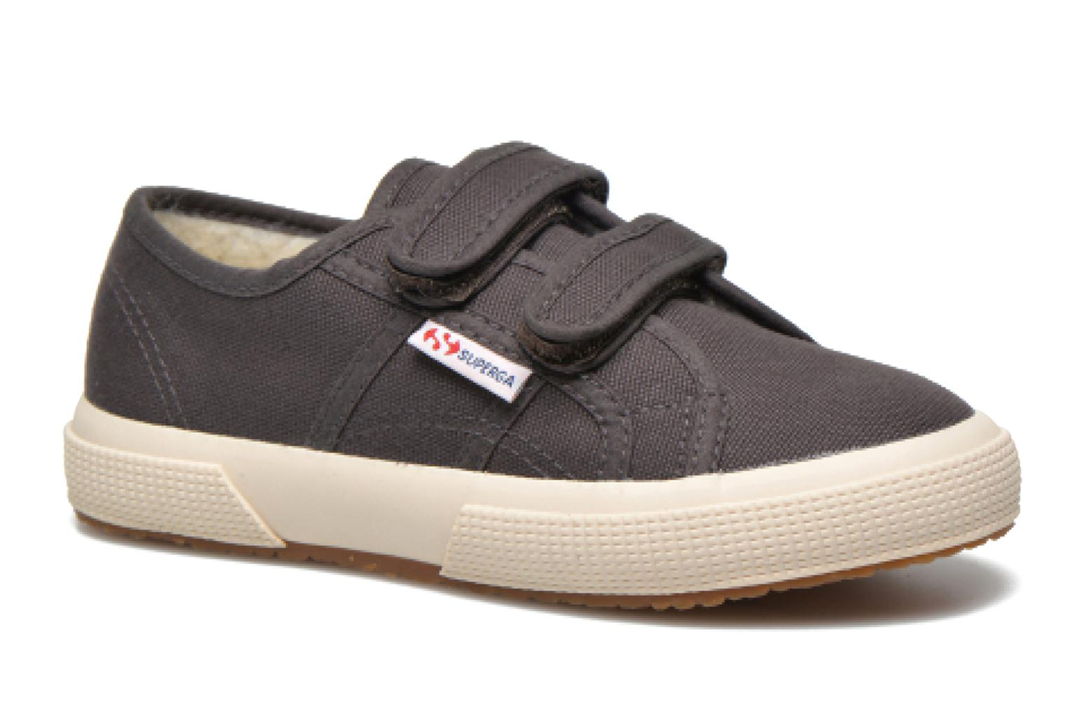 Trainers Superga 2750 Conbinvj Grey detailed view/ Pair view