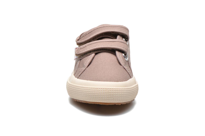 Baskets Superga 2750 Conbinvj Beige vue portées chaussures