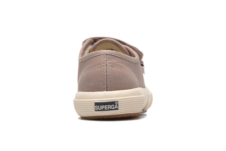 Sneaker Superga 2750 Conbinvj beige ansicht von rechts