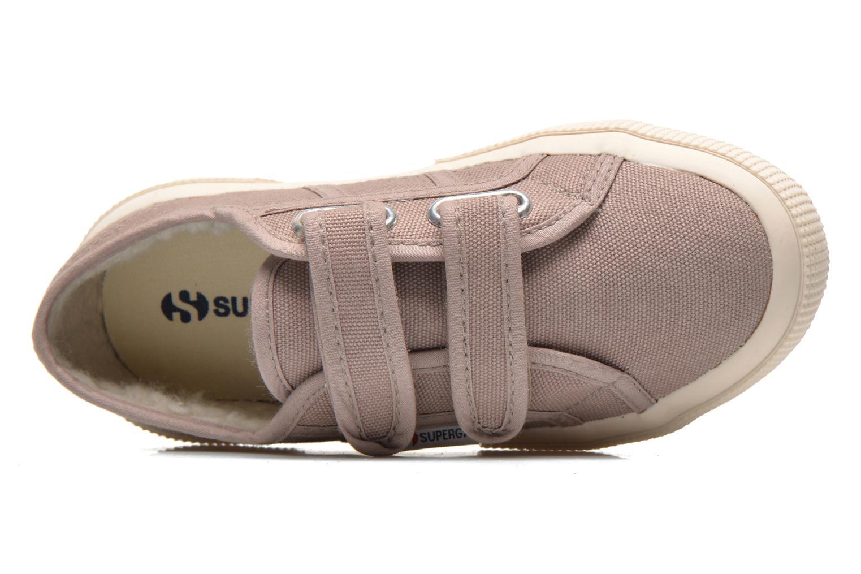 Sneaker Superga 2750 Conbinvj beige ansicht von links