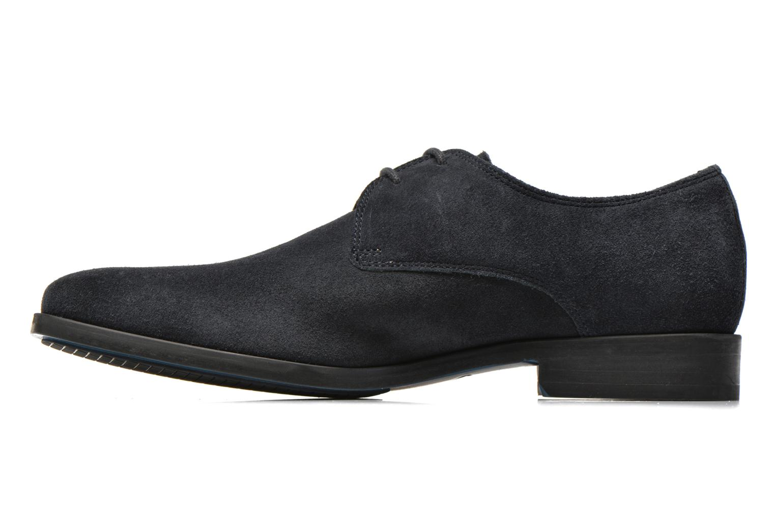 Lace-up shoes Clarks Amieson Walk Blue front view