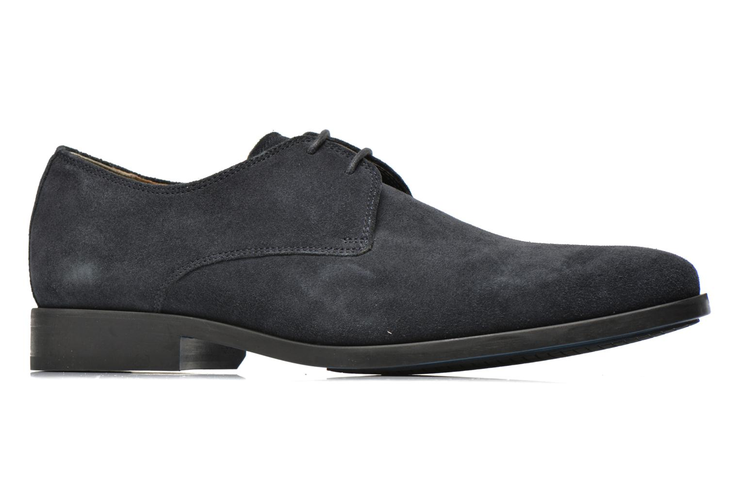 Lace-up shoes Clarks Amieson Walk Blue back view