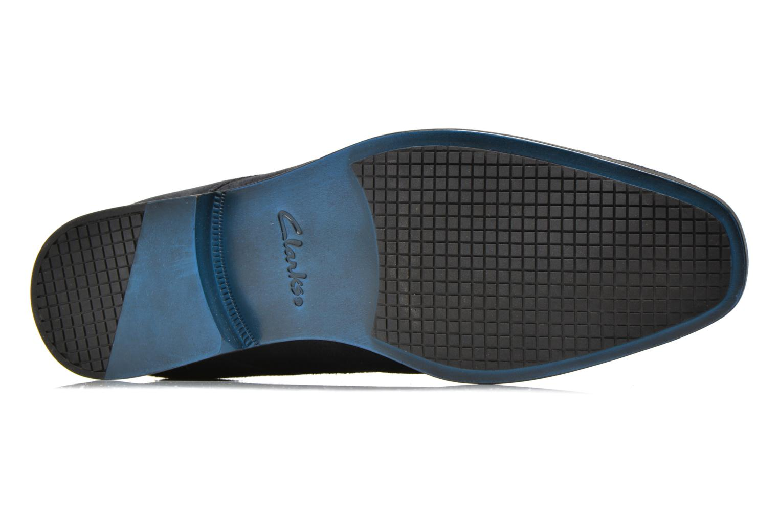 Lace-up shoes Clarks Amieson Walk Blue view from above