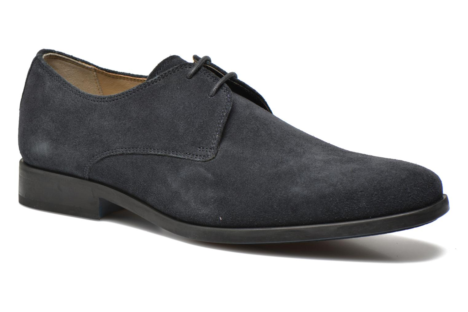 Lace-up shoes Clarks Amieson Walk Blue detailed view/ Pair view