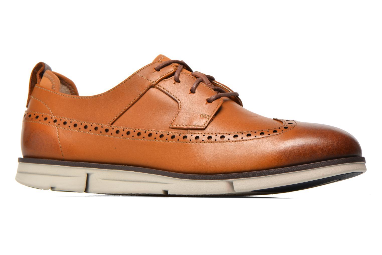 Chaussures à lacets Clarks Trigen Limit Marron vue derrière