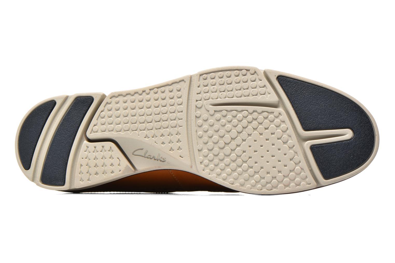 Chaussures à lacets Clarks Trigen Limit Marron vue haut