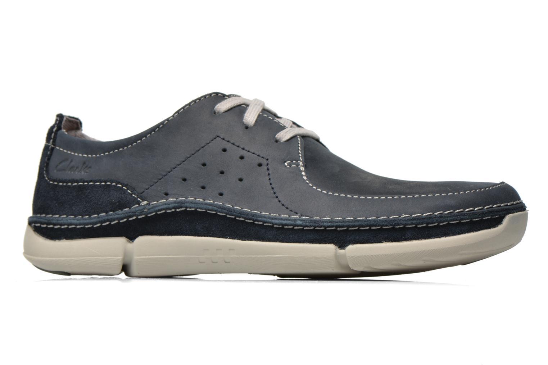 Chaussures à lacets Clarks Trikeyon Fly Bleu vue derrière