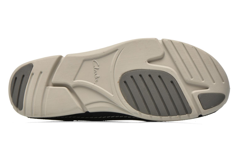 Chaussures à lacets Clarks Trikeyon Fly Bleu vue haut