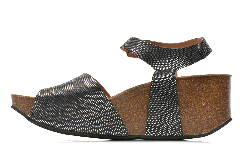 Sandals Plakton So You Silver front view