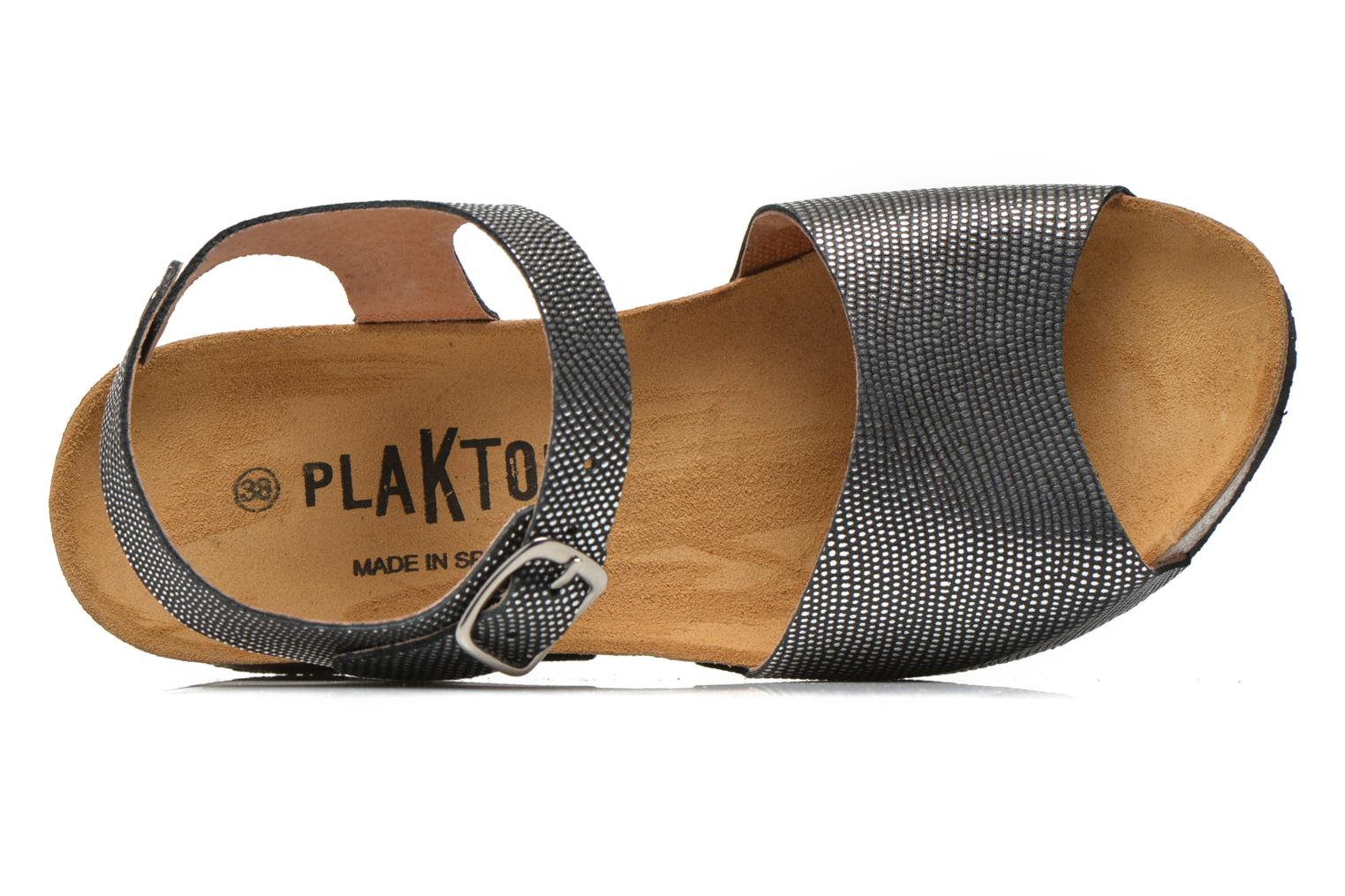 Sandals Plakton So You Silver view from the left
