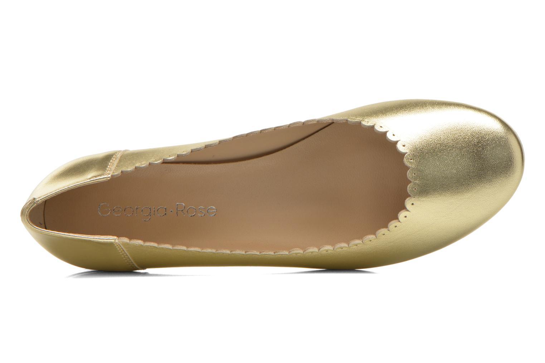 Bailarinas Georgia Rose Sabby Oro y bronce vista lateral izquierda