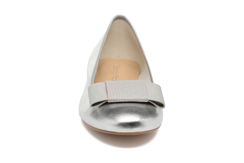 Ballerines Georgia Rose Siable Argent vue portées chaussures