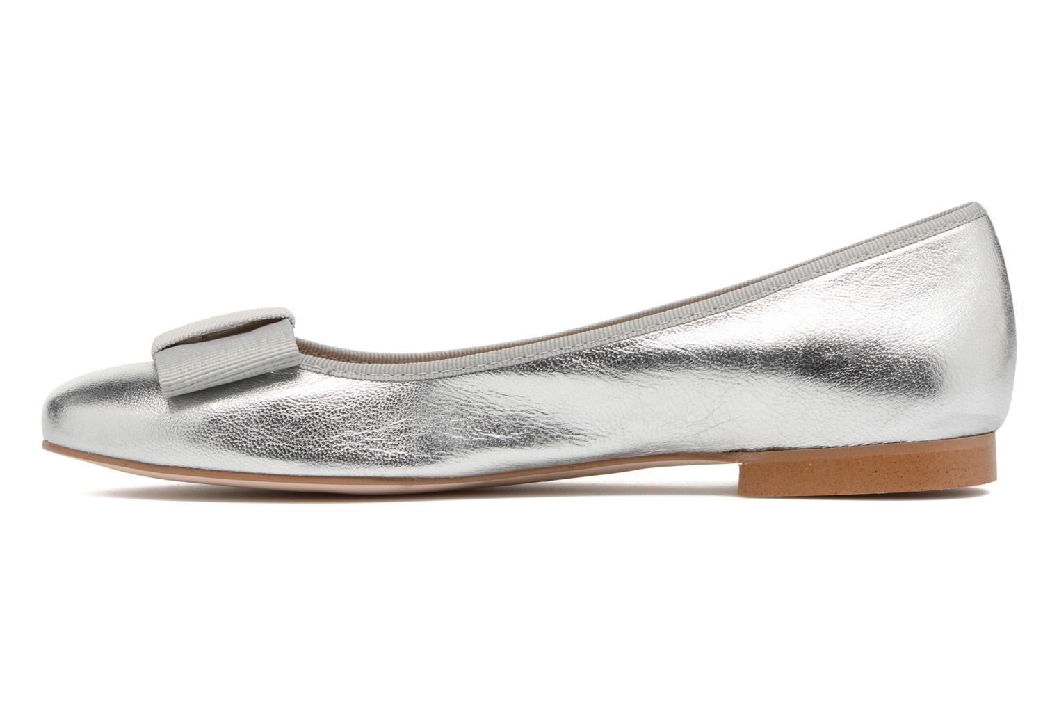 Ballet pumps Georgia Rose Siable Silver front view