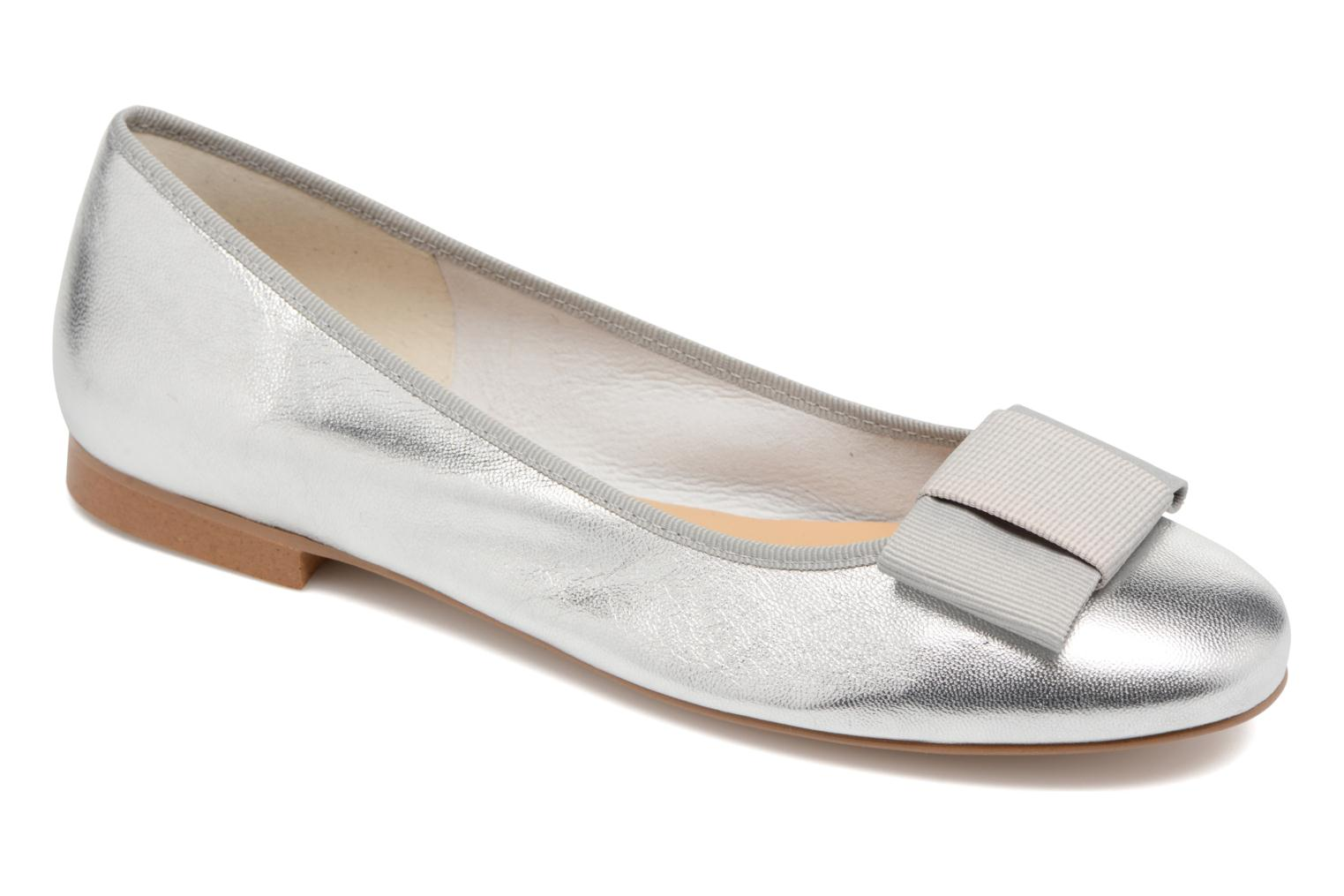 Ballet pumps Georgia Rose Siable Silver detailed view/ Pair view