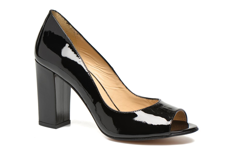 High heels Georgia Rose Saverto Black detailed view/ Pair view