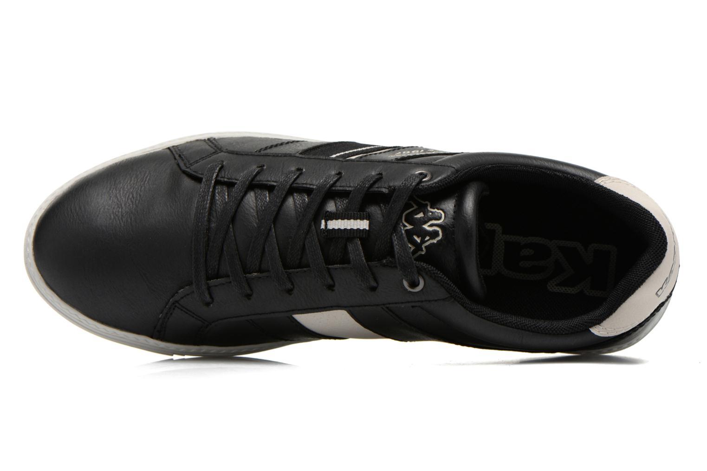 Sneaker Kappa Kechok schwarz ansicht von links