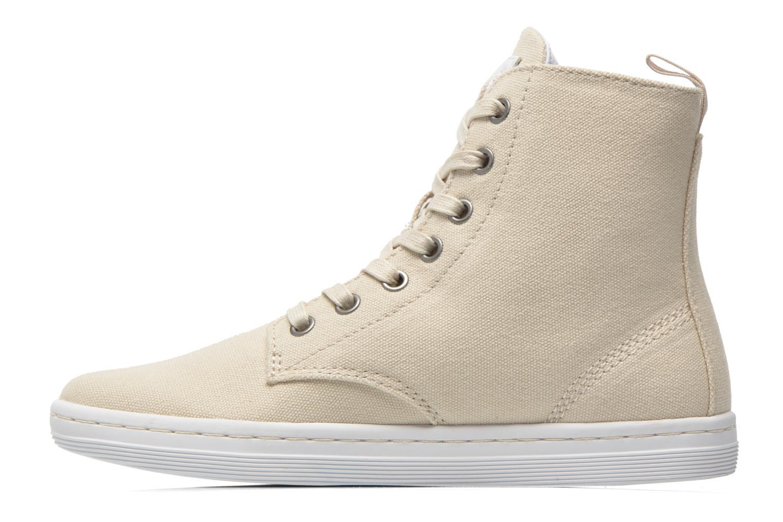 Sneaker Dr. Martens Ecletic Hackney 7 Eye Boot 3J03 beige ansicht von vorne