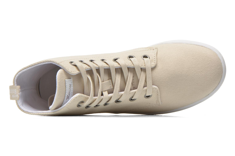 Sneaker Dr. Martens Ecletic Hackney 7 Eye Boot 3J03 beige ansicht von links