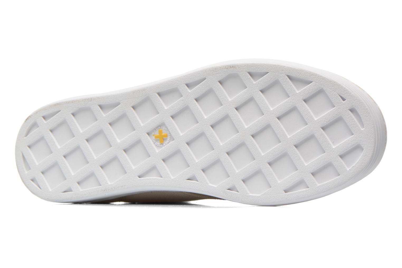 Sneaker Dr. Martens Ecletic Hackney 7 Eye Boot 3J03 beige ansicht von oben