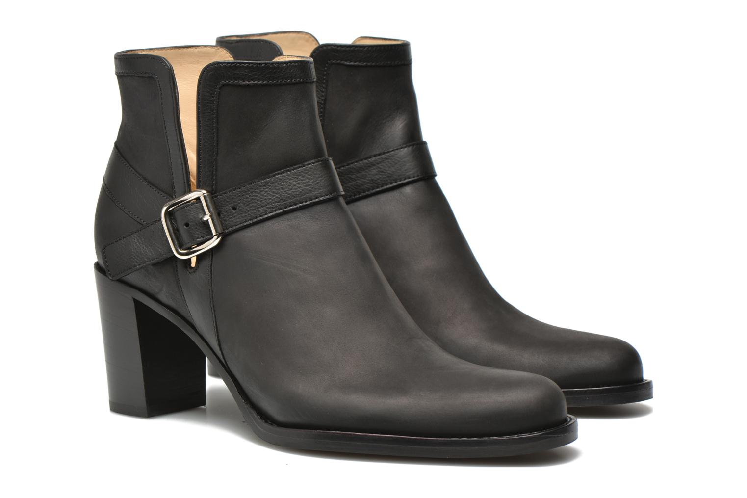 Ankle boots Free Lance Legend 7 Boot Open Black 3/4 view