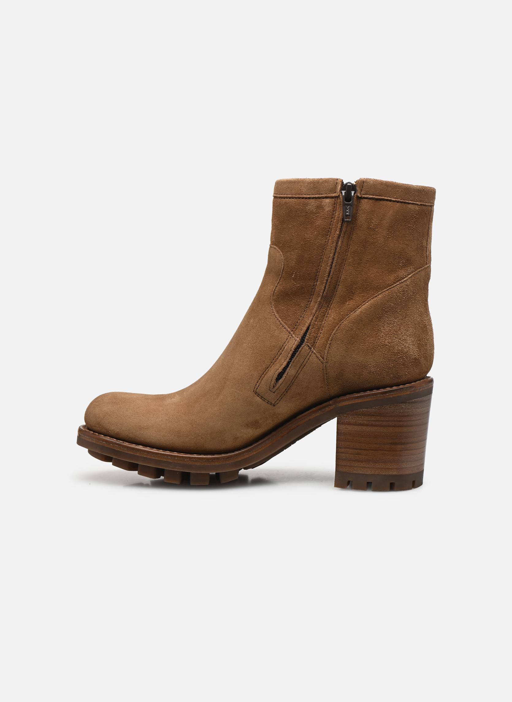 Boots en enkellaarsjes Free Lance Justy 7 Small Gero Buckle Bruin voorkant