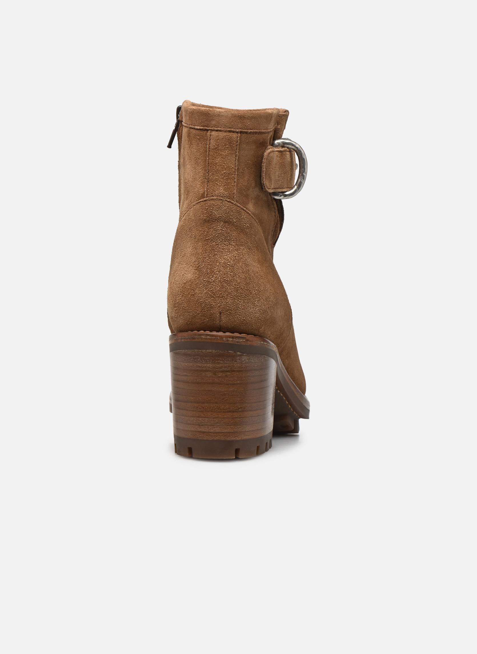 Boots en enkellaarsjes Free Lance Justy 7 Small Gero Buckle Bruin rechts