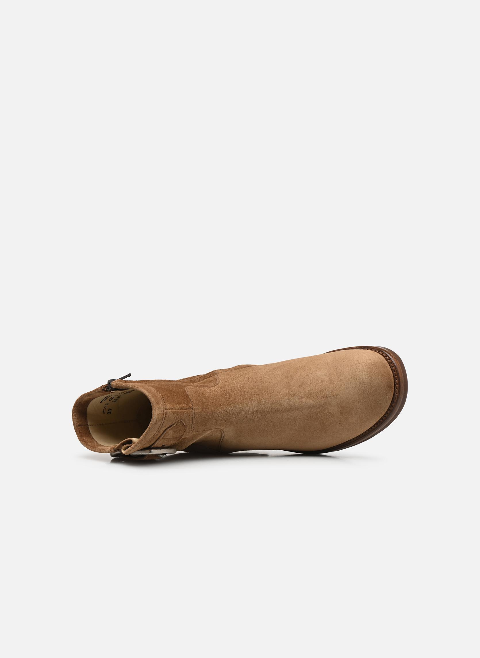 Stiefeletten & Boots Free Lance Justy 7 Small Gero Buckle braun ansicht von links
