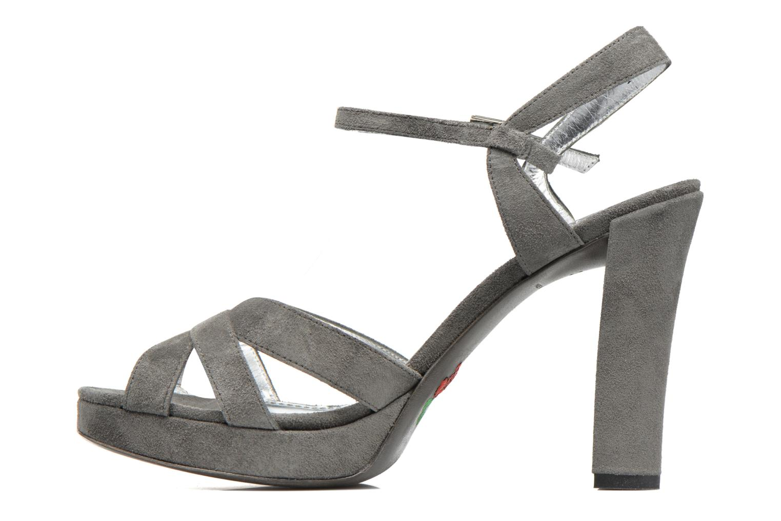 Sandals Free Lance Eve 7 Sandal Grey front view