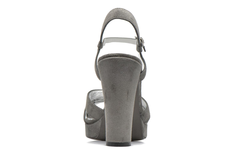 Sandales et nu-pieds Free Lance Eve 7 Sandal Gris vue droite