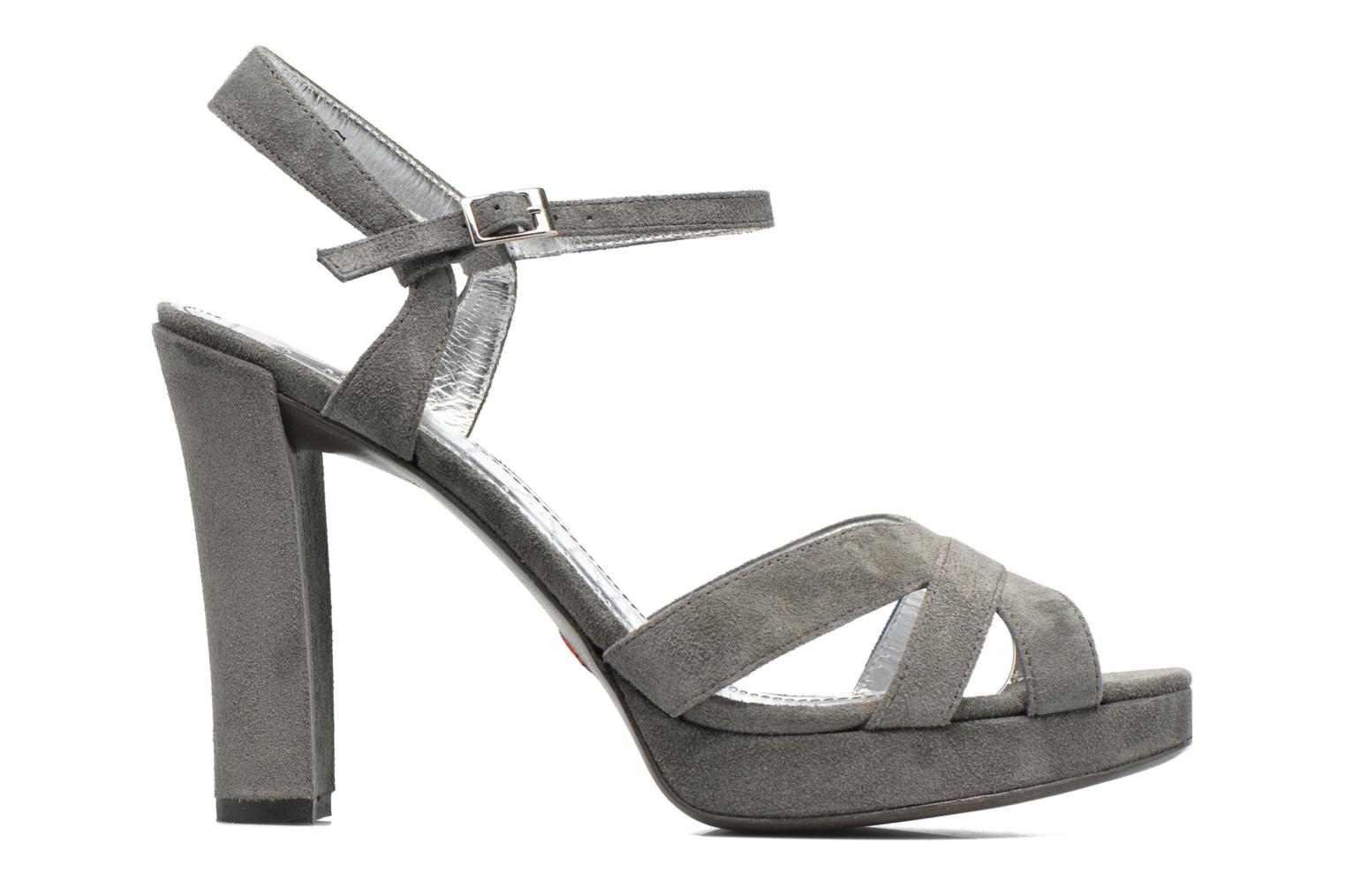 Sandals Free Lance Eve 7 Sandal Grey back view